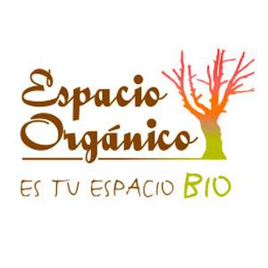 Logotipo supermercado ecológico Espacio Orgánico
