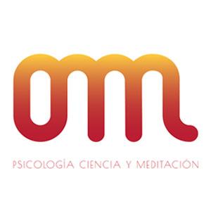 Logotipo Omm Spain, psicología, ciencia y meditación