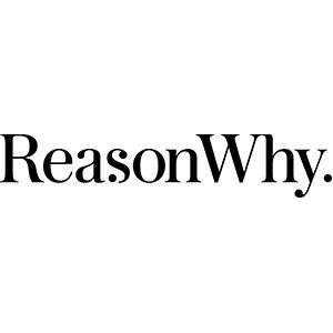 Logotipo Reasonwhy medio de comunicación